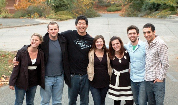 Friends from Seattle Pacific University