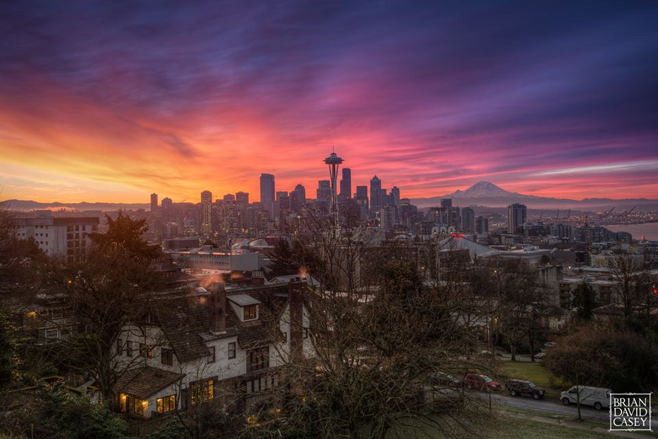 Seattle View by Brian David Casey